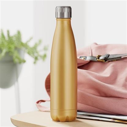 Picture of flask, stainless steel