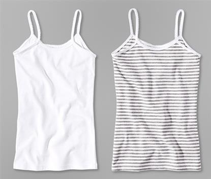 Picture of girls undershirt, set of 2, OC, 146/152