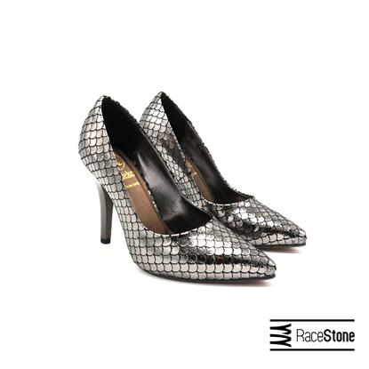 Picture of Women's chamber leather shoes, gray